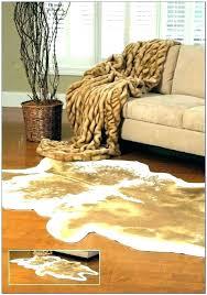 fake animal rug faux skin zebra rugs cowhide fur ikea uk 3 x 5 white singl