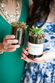 Decorating Empty Wine Bottles DIY Wine Bottle Succulent Planters 62