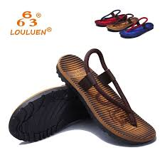 LOULUEN Brand 2017 <b>Summer Men Fashion Cool</b> Rope Flip Flops ...