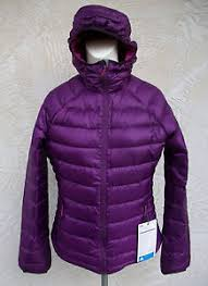 Eddie Bauer Womens Jacket Size Chart Details About New Eddie Bauer First Ascent Womens Linear Hooded Downlight Coat Vibrant Purple