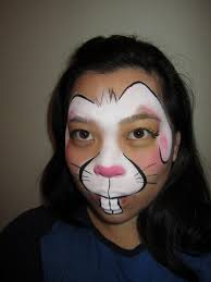 Small Picture Pretty Bunny Face Paint 14 mosatt