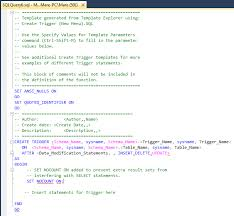 A Database Template Contains Pre Built How To Create And Customize Sql Server Templates Sql Shack