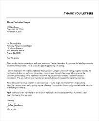 Thank You For Reference Professional Thank You Letter Appreciation Template Of