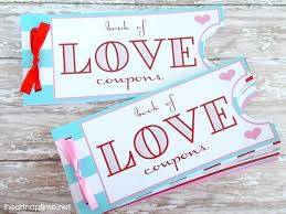 Printable Homemade Coupons Valentines Day Coupon Book Free Printable Homemade Coupons Best