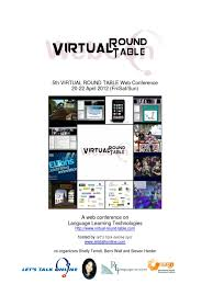 sponsorship opportunity 5th virtual round table web conference 2016