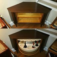 hidden bar furniture. hidden bar on a lazy susan corner cabinet 250 furniture g