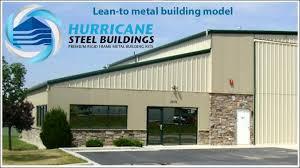 lean to metal building kit
