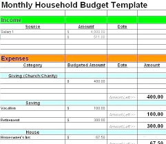 Budget For Young Adults Budget Maker Template Simple Monthly Free Printable