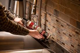 caulking kitchen backsplash. Installing A Glass Tile Backsplash Caulking Kitchen