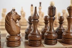 Handmade Wooden Board Games MADEHEART Unusual handmade wooden chessmen chess pieces board 39