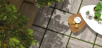 remake t20 outdoor wood effect tiles by supergres laid over grass