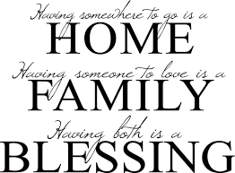 Bible Quotes About Family Custom Home Family Blessing Bible Inspiration Quote Adhesive Vinyl Wall