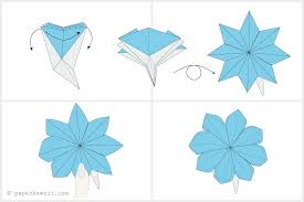 Paper Folded Flower How To Make An Origami Flower