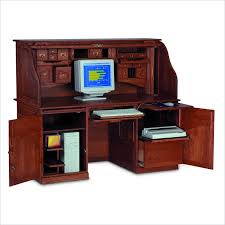 furniture-classy-traditional-solid-wood-computer-desk-design-