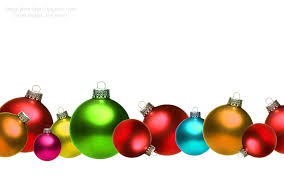 Christmas Ornaments Border Christmas Ornament Border Clipart 20 Free Cliparts