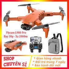 Flycam Giá Rẻ 4K L900 PRO💥 Bảo Hành 12 Tháng 💥Máy Bay Flycam , Gimbal 2  Trục, Động cơ không chổi than, Tầm xa 1200m