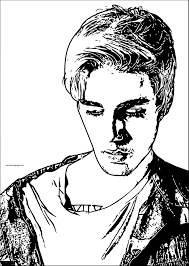 Small Picture Justin Bieber Coloring Pages Best Coloring Pages