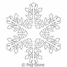 Snowflake 5 | Peg Stone | Digitized Quilting Designs & Digital Quilting Design Snowflake 5 by Peg Stone. Adamdwight.com