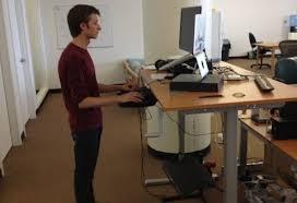 Stand Up Desks Ikea Fabulous Adjustable Standing Desk IKEA Hack A From ...