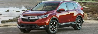 ... 2017 Red Honda CR-V Model