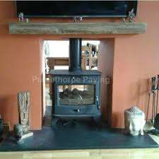 details about fireplace hearth large hearths 1 5m wide 4 depths natural black limestone