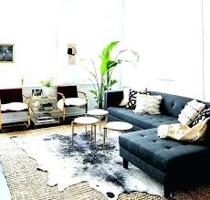 cow hide rug fake cowhide small best decor ideas on rugs and layering for under dining table