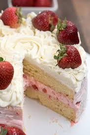 Strawberry Shortcake Layer Cake Crazy For Crust