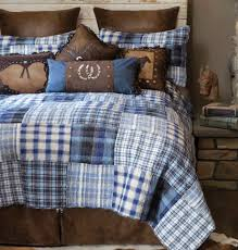 western bedding sets queen size cowboy denim plaid bed set lone star western decor