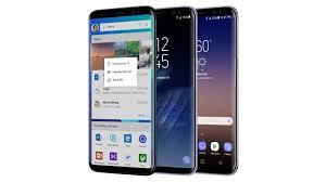 samsung galaxy smartphones. earlier this year, microsoft announced its partnership with samsung to sell galaxy s8 and s8+ edition devices at store retail smartphones