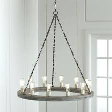 gray wood and iron valencia chandelier gray wood chandelier round wood chandelier world market gray wood
