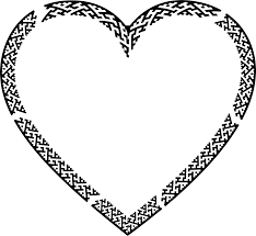 Fancy Border Heart Icons PNG Free PNG and Icons Downloads