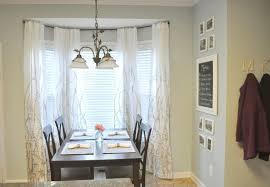 Image of: stylish bay window curtain rod