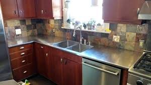 stainless steel residential kitchen countertops stainless