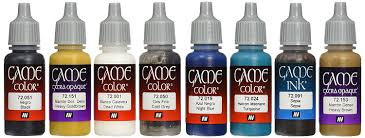 Vallejo Game Color Painting Set Set Of 8 Acrylicos Vallejo