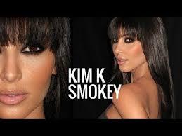 kim kardashian smokey eye makeup tutorial brown smokey eye you