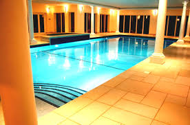 indoor pool house with diving board. Modern Mansion With Indoor Pool Slides And Great Decoration - GoodHomez.com House Diving Board I