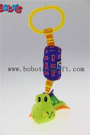 Cuddly Stuffed Cartoon Crocodile <b>Animal Stroller</b> Hanging <b>Toy</b> ...