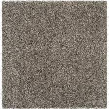 safavieh milan gray square indoor area rug common 10 x 10 actual