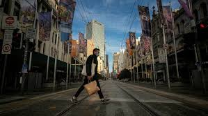 In early july, the nights were long and dark,. We Re All Doing It Again Grumpy Melbourne Endures Second Lockdown Financial Times