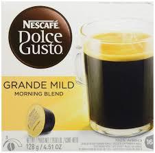 Dolce Gusto Light Nescafe Dolce Gusto Morning Blend Light Roast Amazon In