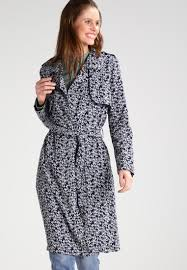 yumi trenchcoat dark blue women coats trench yumi coats debenhams codes