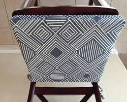 bar stools bar stool cushions geometric print seat cushion cover kitchen chair pad round inch