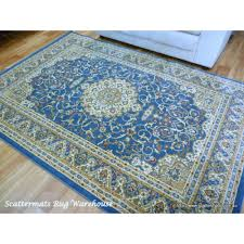 persian rugs classical 600 light blue area rug