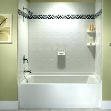 two piece shower units