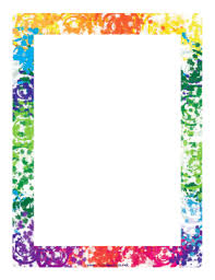 The free versions are available in four different formats: Colorful Border