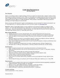 Retail Job Description For Resume Luxury 51 Unique Sales Associate
