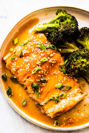 Slow Baked Asian Salmon (easy recipe ...