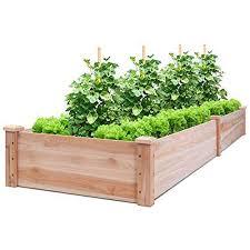 giantex wooden raised vegetable