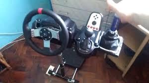 logitech g27 3 joystick diy handbrake mod wheel stand pro assetto corsa finished you
