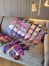 Best 25+ Tie quilt ideas on Pinterest | Necktie quilt, Dresden ... & Renay's Tie Quilt is now a pattern Adamdwight.com